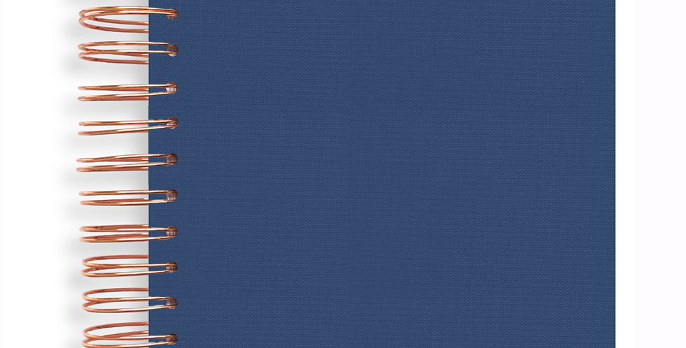 Notebook - Denim Blue