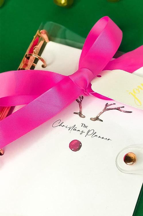 Christmas Planner / Rose Gold Binder