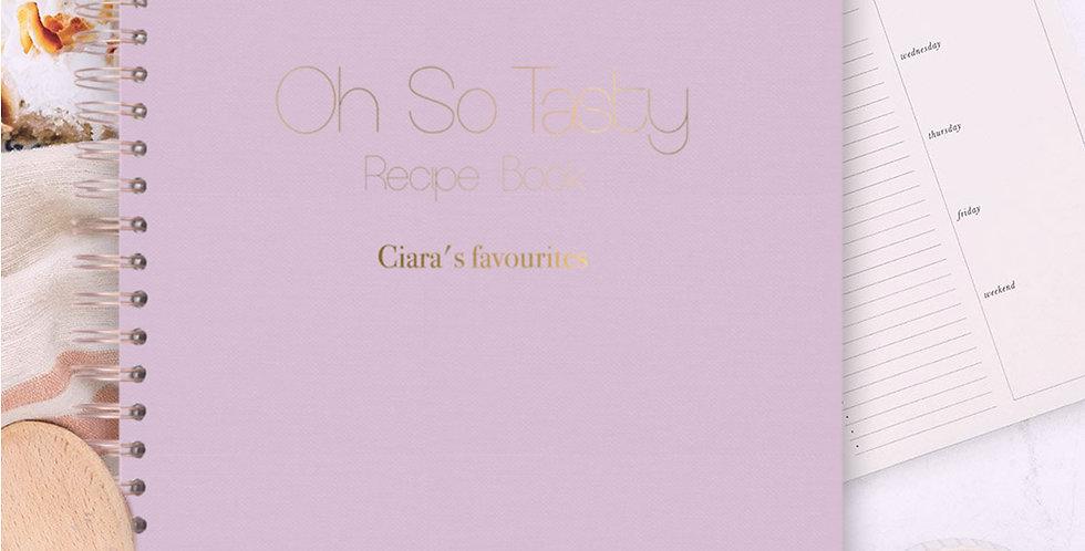 Recipe Book - Pink