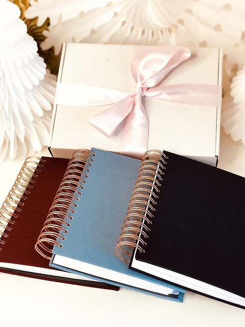 Christmas Box with Notebook