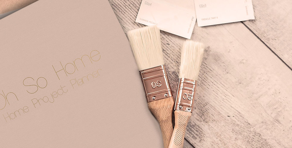 Oh So Home - Home Project Planner - Light Brown