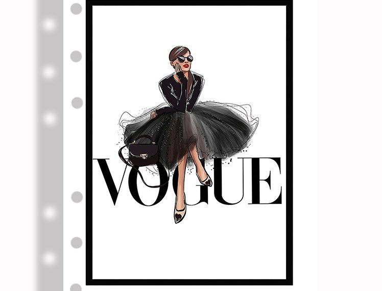 A5 dashboards - Vogue