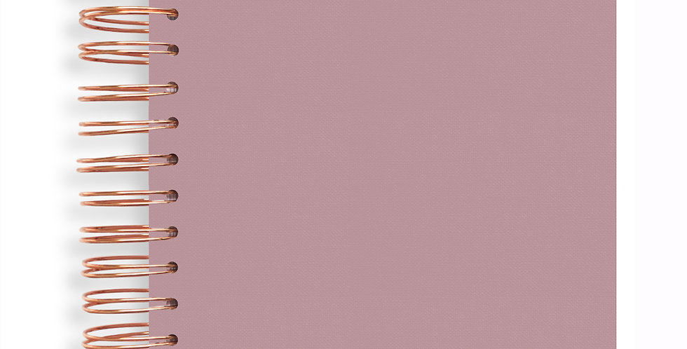 Notebook - Pastel Pink