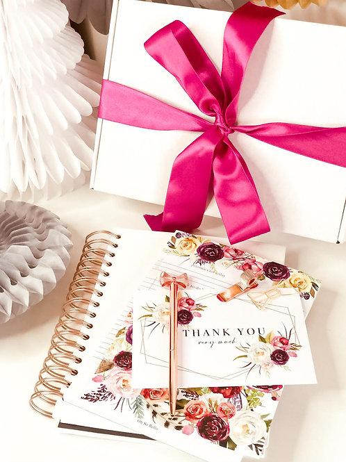 Christmas Box with Wedding Set