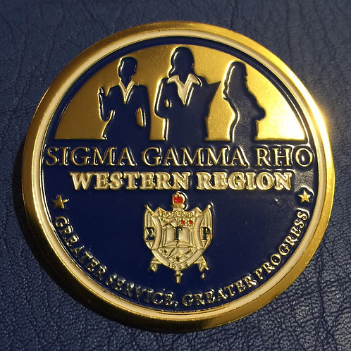 Official Western Region Pin