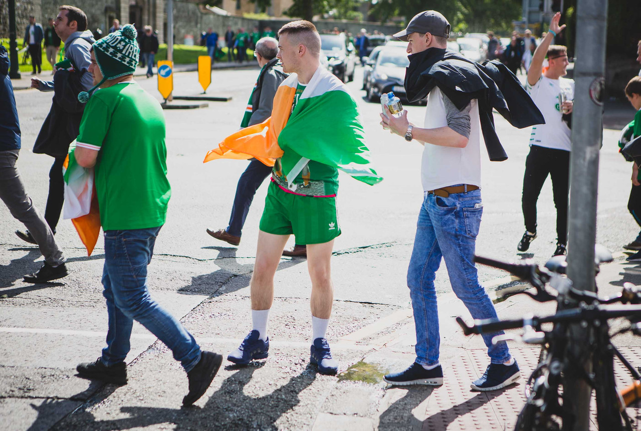Match Day - Ireland 1-1 Austria WCQ June 2017 - Green Army - Denis Vahey Photography - Commercial _ Portrait _ Advertising - www.denisvahey.com-10