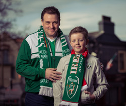 Cathal and Harry Warfield