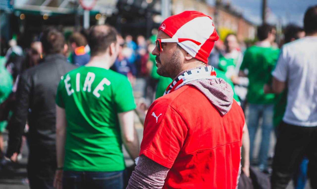 Match Day - Ireland 1-1 Austria WCQ June 2017 - Green Army - Denis Vahey Photography - Commercial _ Portrait _ Advertising - www.denisvahey.com-12