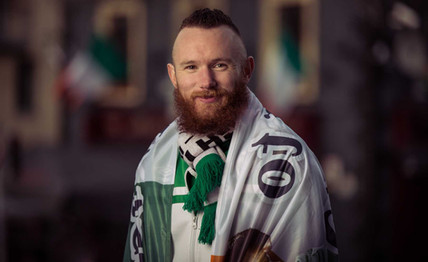 Liam 'Loc' Kelly - Green Army Portrait Series