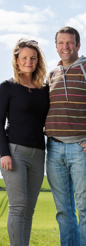 Máire(Máire Hennessy Consulting & Chic Dwelling) & Denis(Farmer)