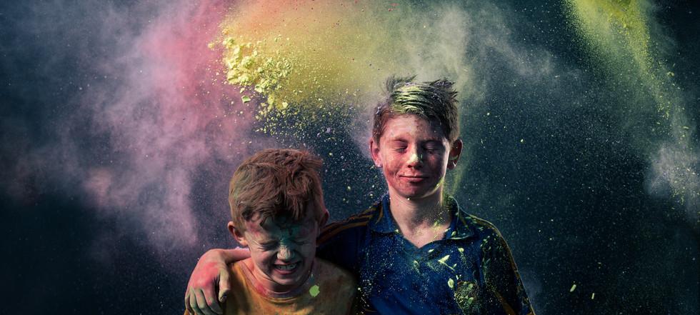 Colour Run Portrait