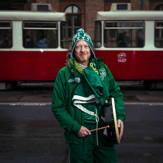 Brian McElroy - Green Army Portrait Series