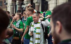 Green Army in Cardiff