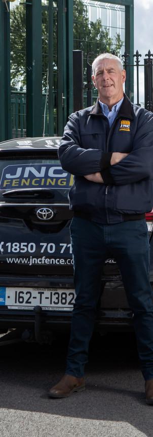 JNC Fencing Group & Premier Pitches - Adrian, Jim & John Cummins