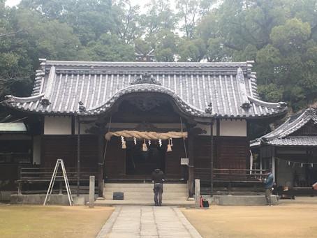 垂水神社の実測調査
