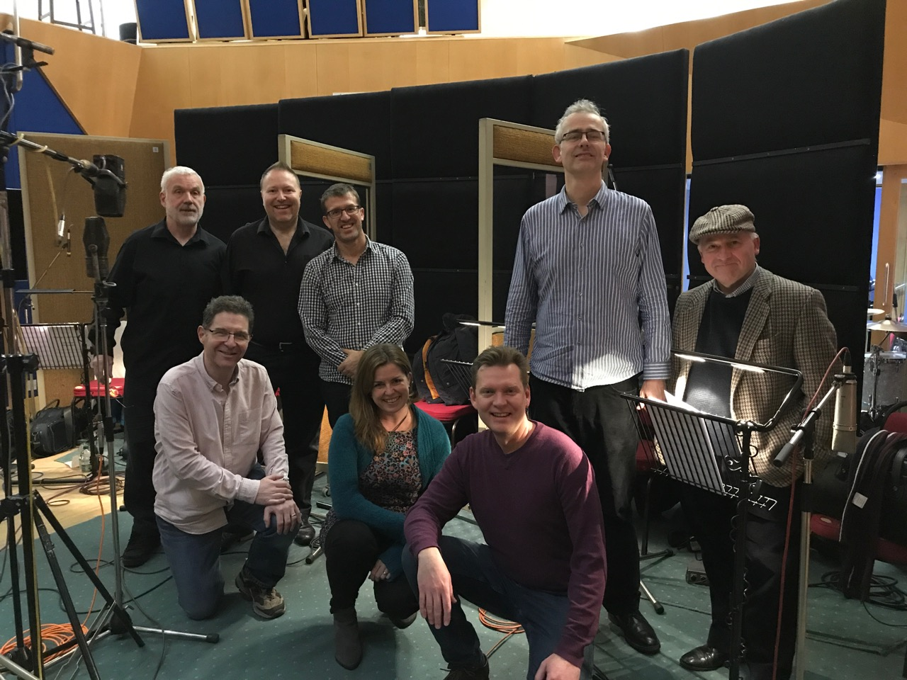 Vocal Swing Brass Session Abbey Road 3