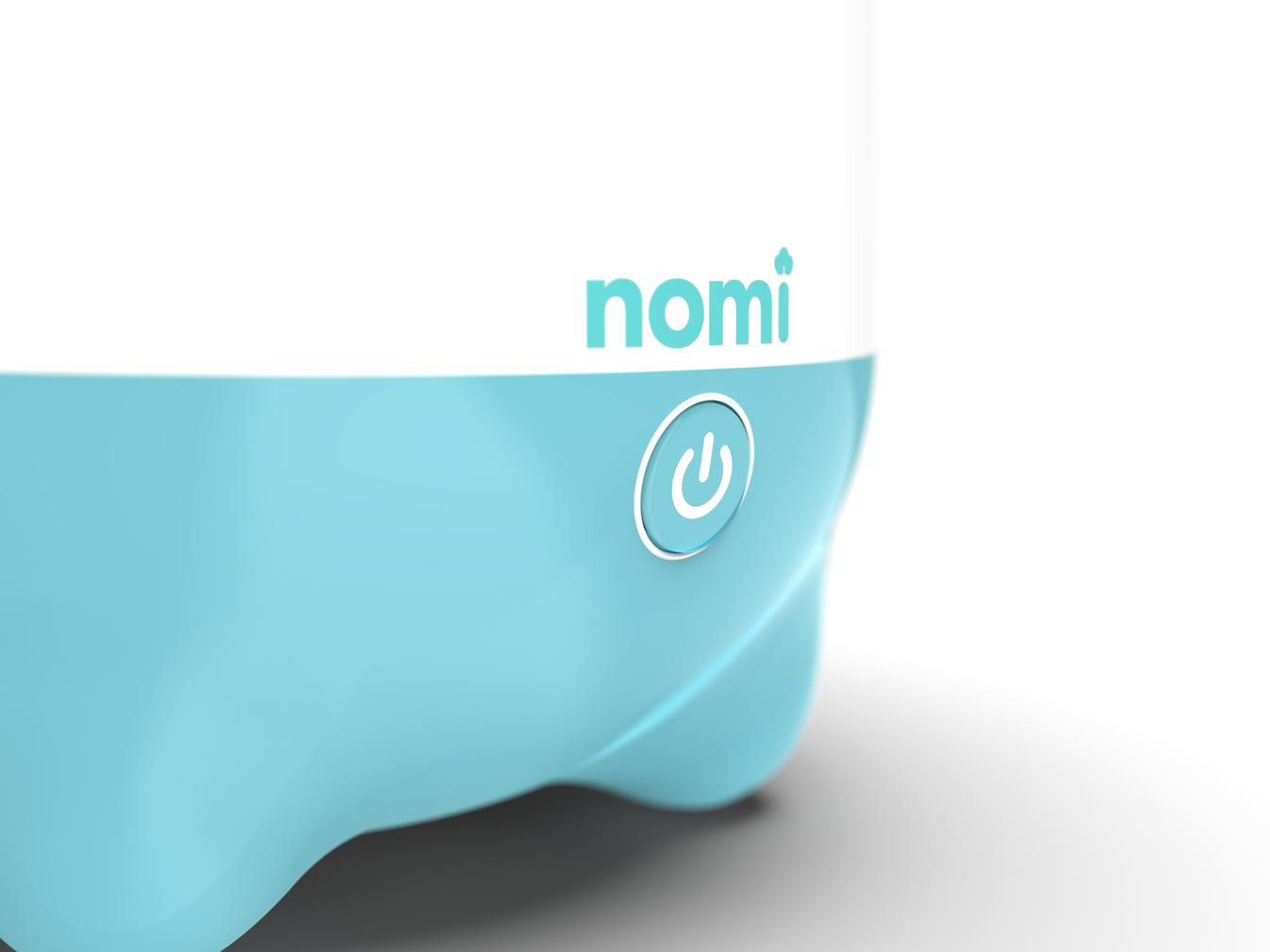 Nomi Steamer One Button Operation