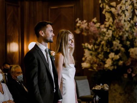 Kat & Si's Marylebone Town Hall Micro Wedding