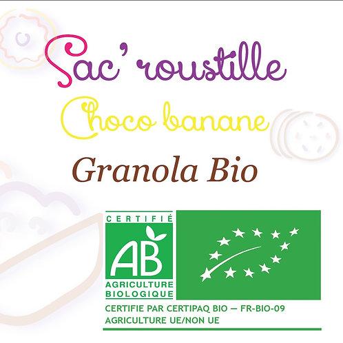 Granola choco banane 600gr BIO