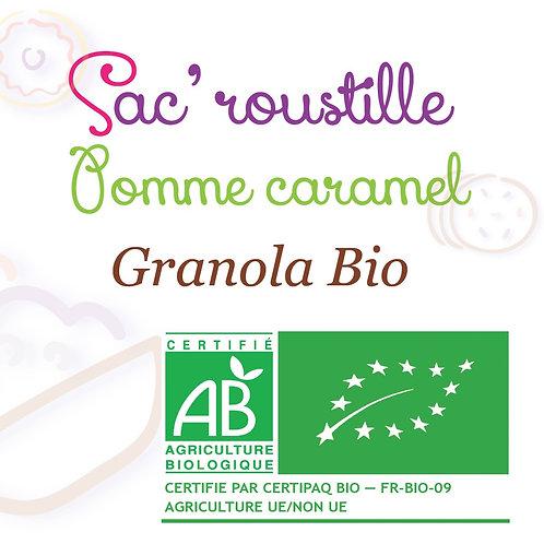Granola pomme caramel 600gr BIO