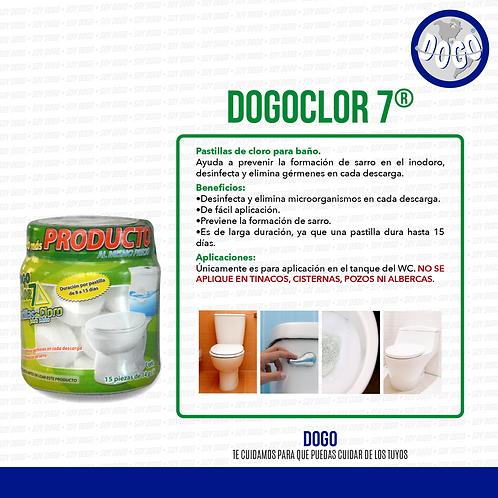 DogoClor 7 Pastillas Baño Cloro