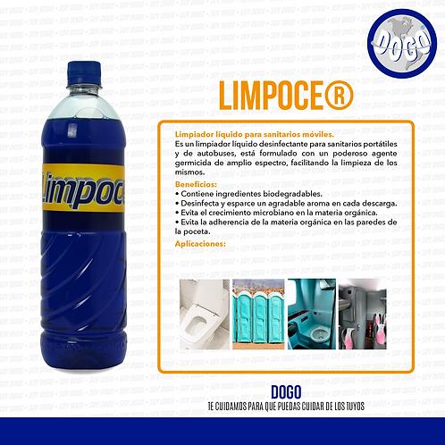 Limpoce Liquido para Sanitarios Moviles