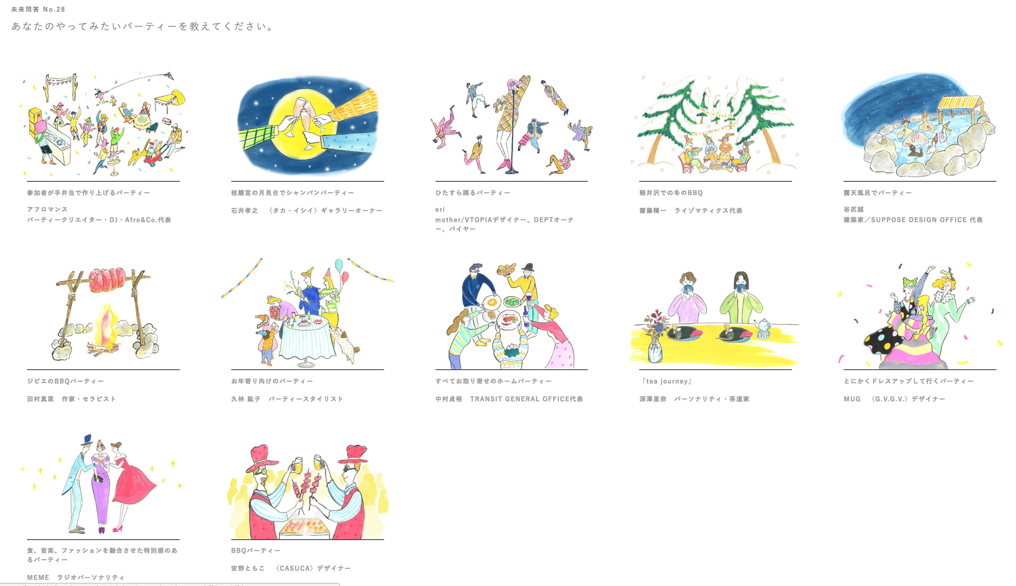 大丸松坂屋百貨店オウンドメディア「F.I.N.」