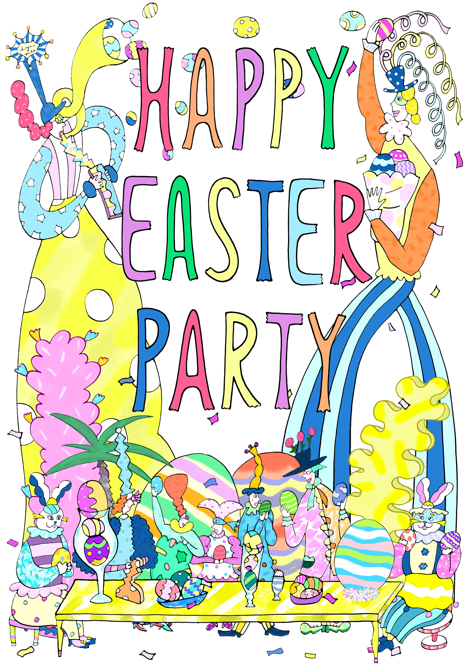 阪急百貨店「HAPPY EASTER PARTY」