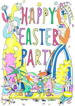 阪急百貨店 「HAPPY EASTER PARTY」
