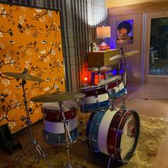 Lugwig Vistalite drums
