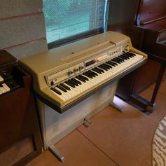 Chimeatron, Wurlitzer, and Francis Bacon piano
