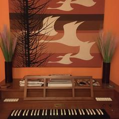 Electric harpsichord