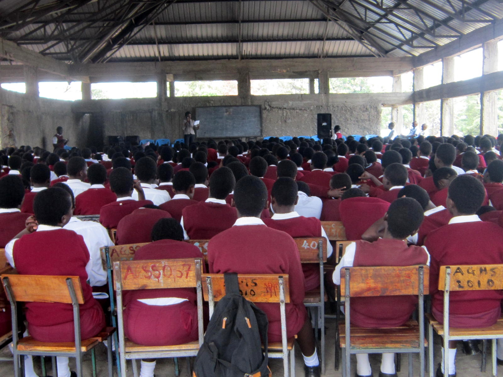 Mentorship Talk Achego Girls HS 2015