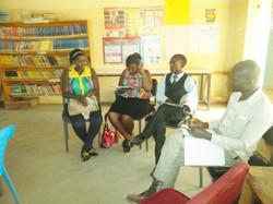 P-Ambassador Jacky with Mentors