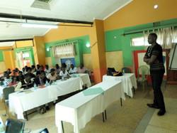 P-Ambassador Ernest facilitating