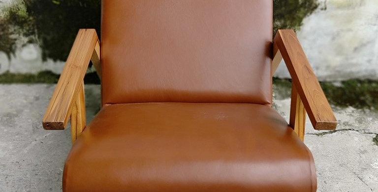 Cuba Leather Armchair