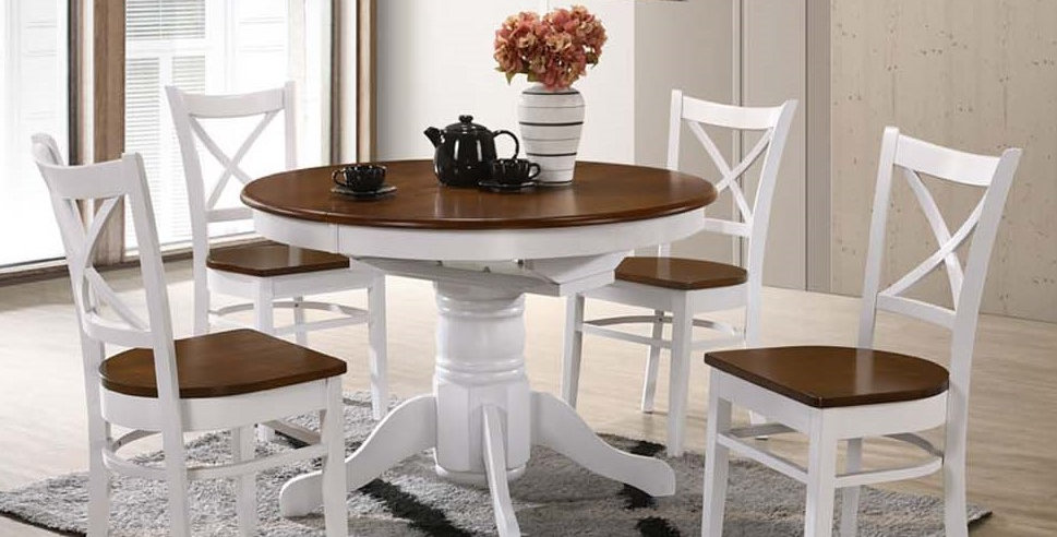 "Coastal 5Pce Dining Suite - 42"" Fixed Table"