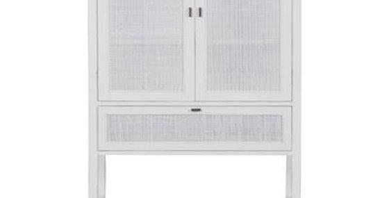 Beltana Tall Cabinet - White
