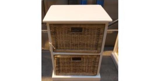 Rattan Peel Storage 2 Baskets