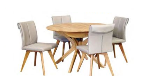 York 1200 Round Ext Table