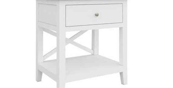 Hampton Side Table 1 Drawer Shelf