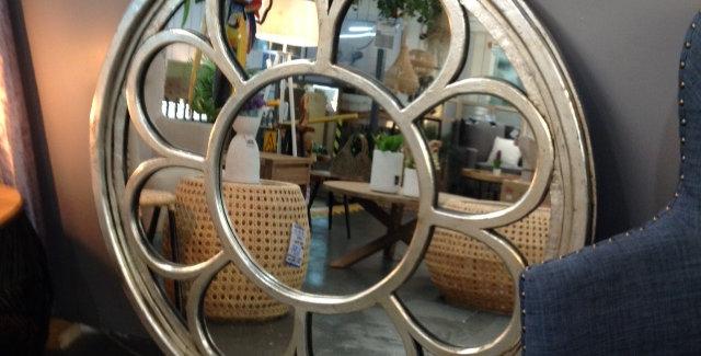 Round Ozone Mirror