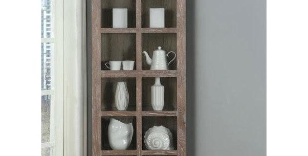 Emerald Corner Display Cabinet