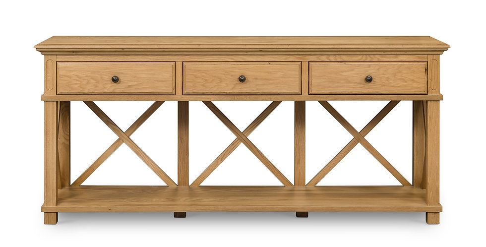 Sorrento 3 Drawer Console