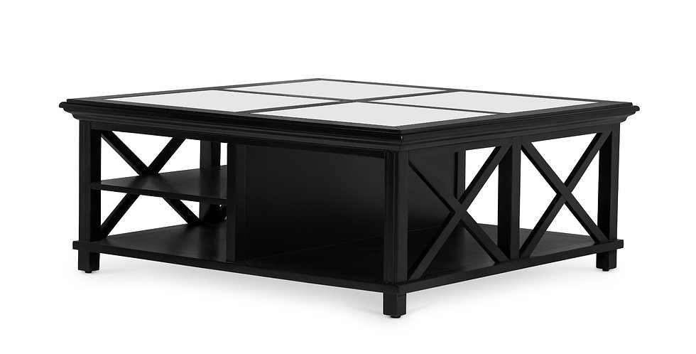 Sorrento Large Glass Coffee Table