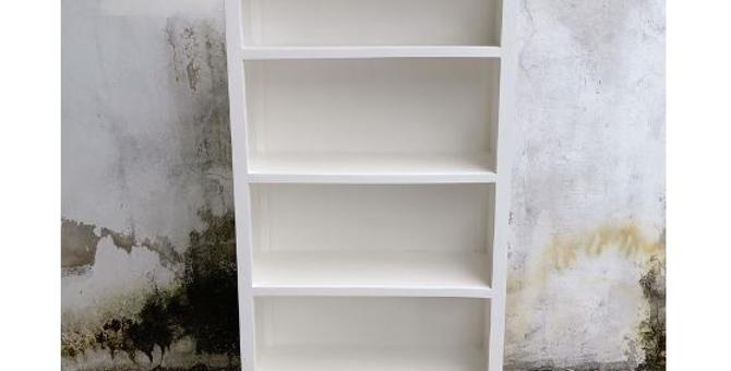 Hampton Coastal Bookcase 2 Drawers