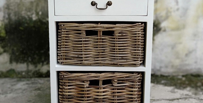 Bayu 1 Drawer 2 Baskets