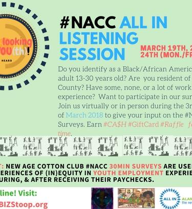 #NACC 2018 Survey