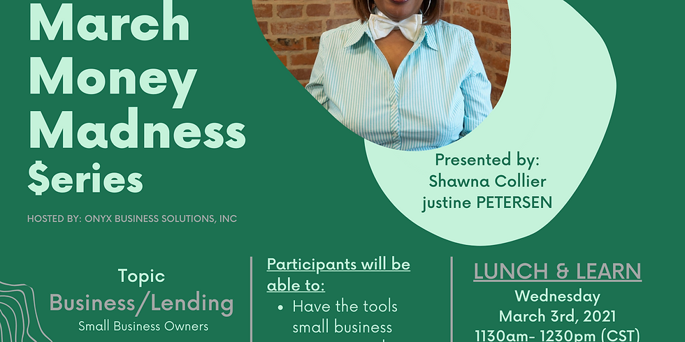 Business Lending - Shawna Collier w/justine PETERSEN