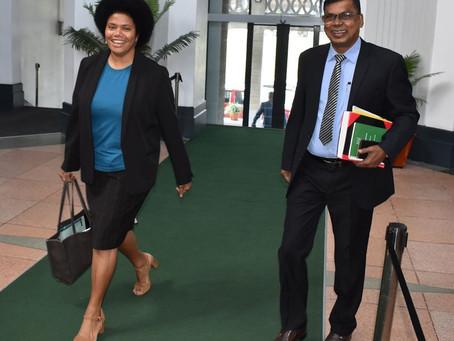 Hon. Lenora Qereqeretabua contributes to motion to amend Land Transport Act 1988